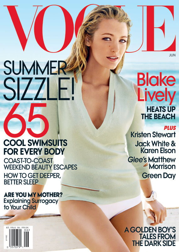 blake lively photoshoot vogue. Vogue can use Lively to